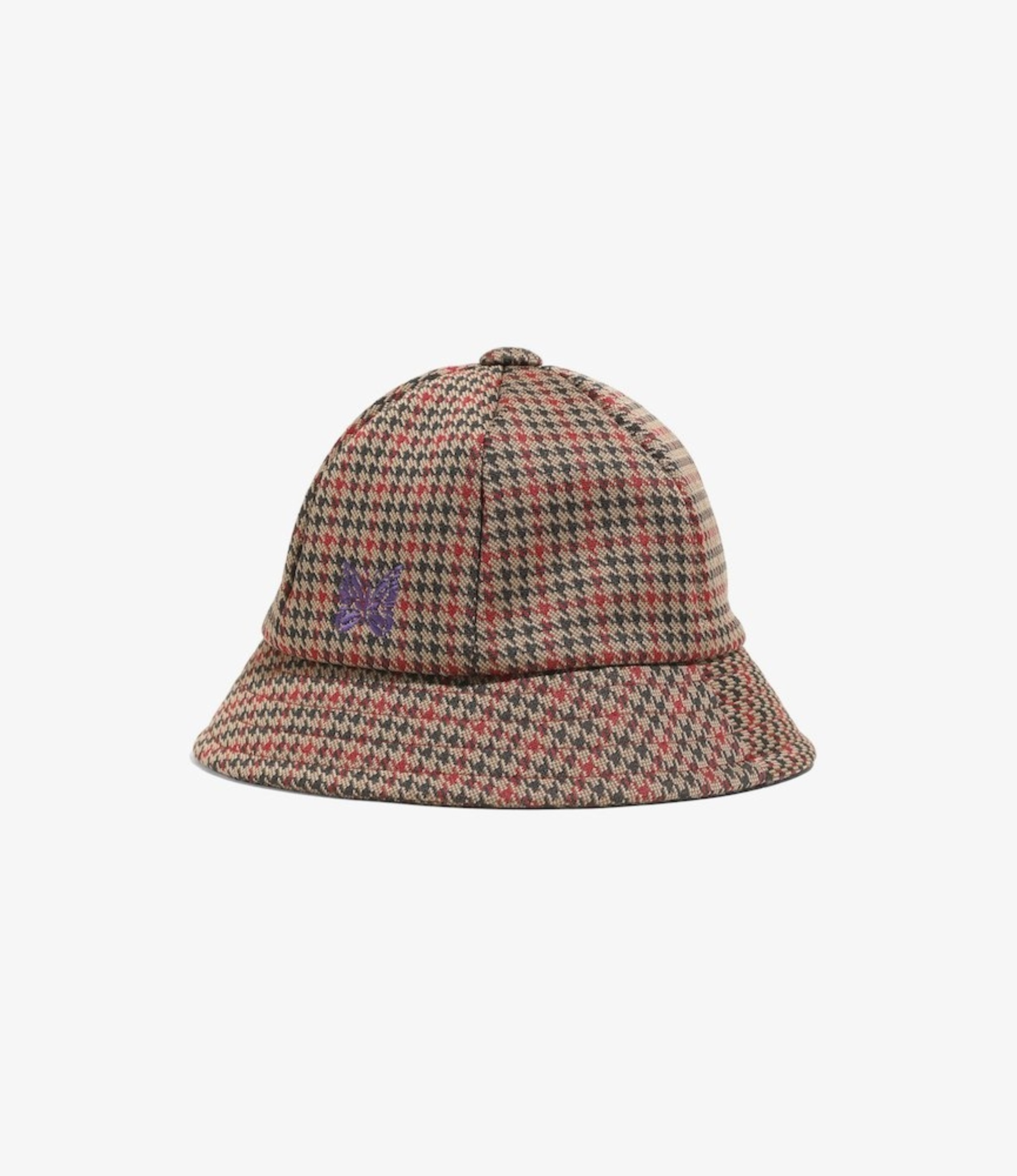 Needles Bermuda Hat - Poly Jq - Houndstooth