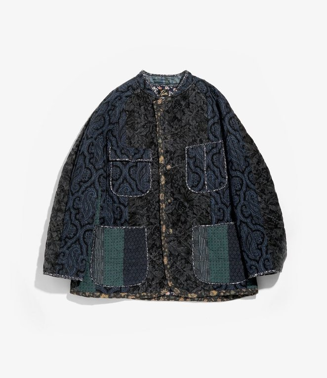 Needles Chore Coat - Switched Quilt - Navy/Charcoal