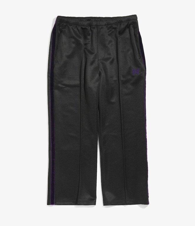 Needles S.L.C. Seam Pocket Pant - Bright Jersey - Black/Purple