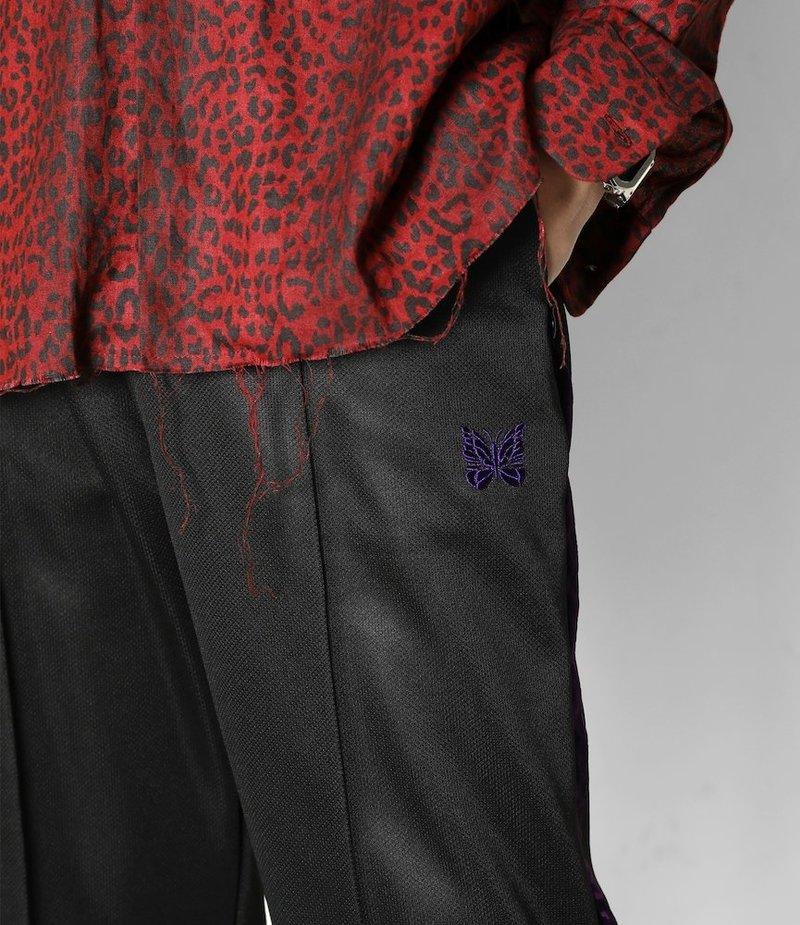 Needles S.L.C. Seam Pkt Pant - Bright Jersey - BLK/PPL
