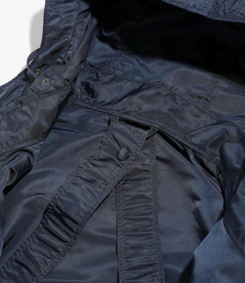 Engineered Garments Sonor Shirt Jacket - Navy Flight Satin Nylon