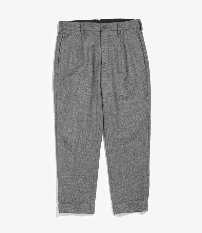 Engineered Garments Andover Pant - Grey Wool Glen Plaid Stripe
