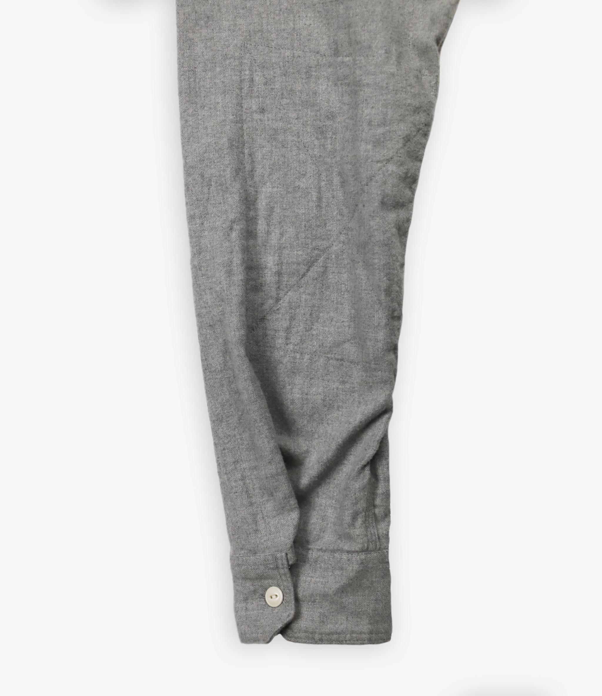 Engineered Garments Work Shirt - Lt.Grey Brushed Cotton Twill