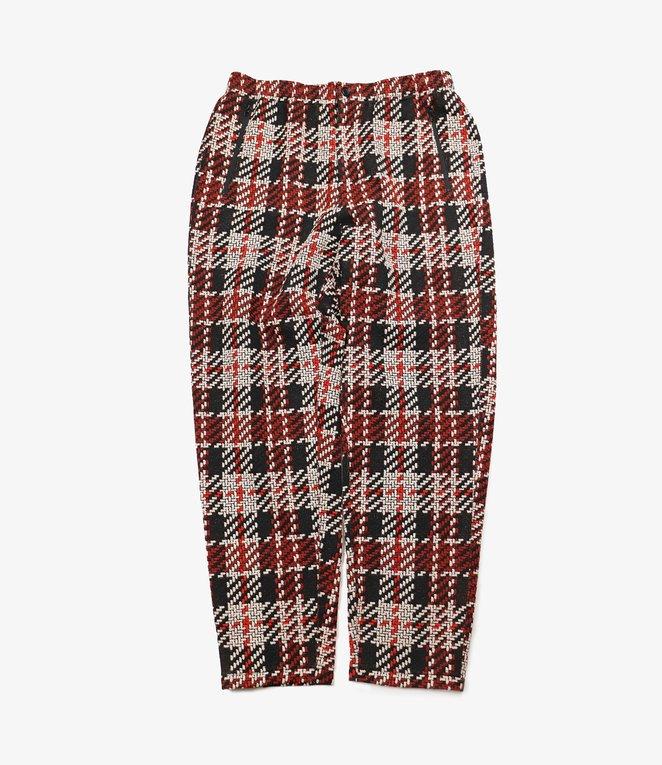 Engineered Garments Jog Pant - Black/Red Tweed Knit