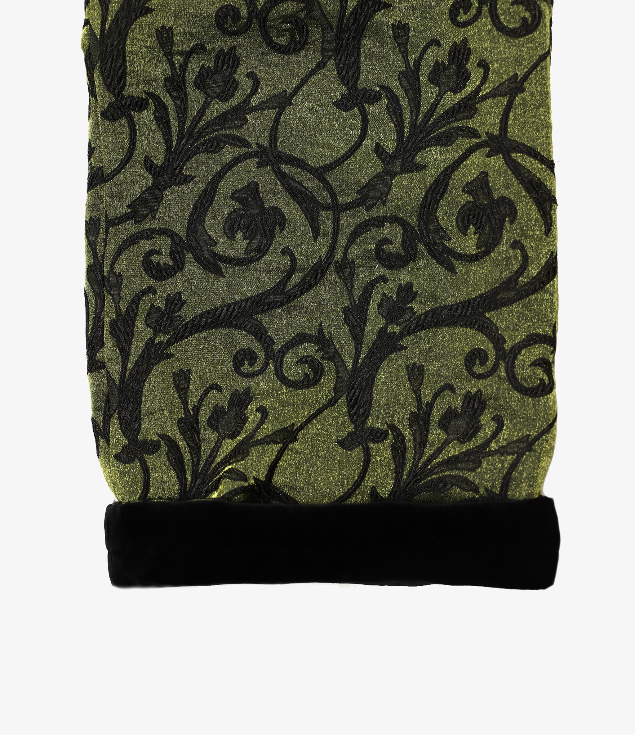 Needles Reversible String Easy Pant - Arabesque Jacquard - Green