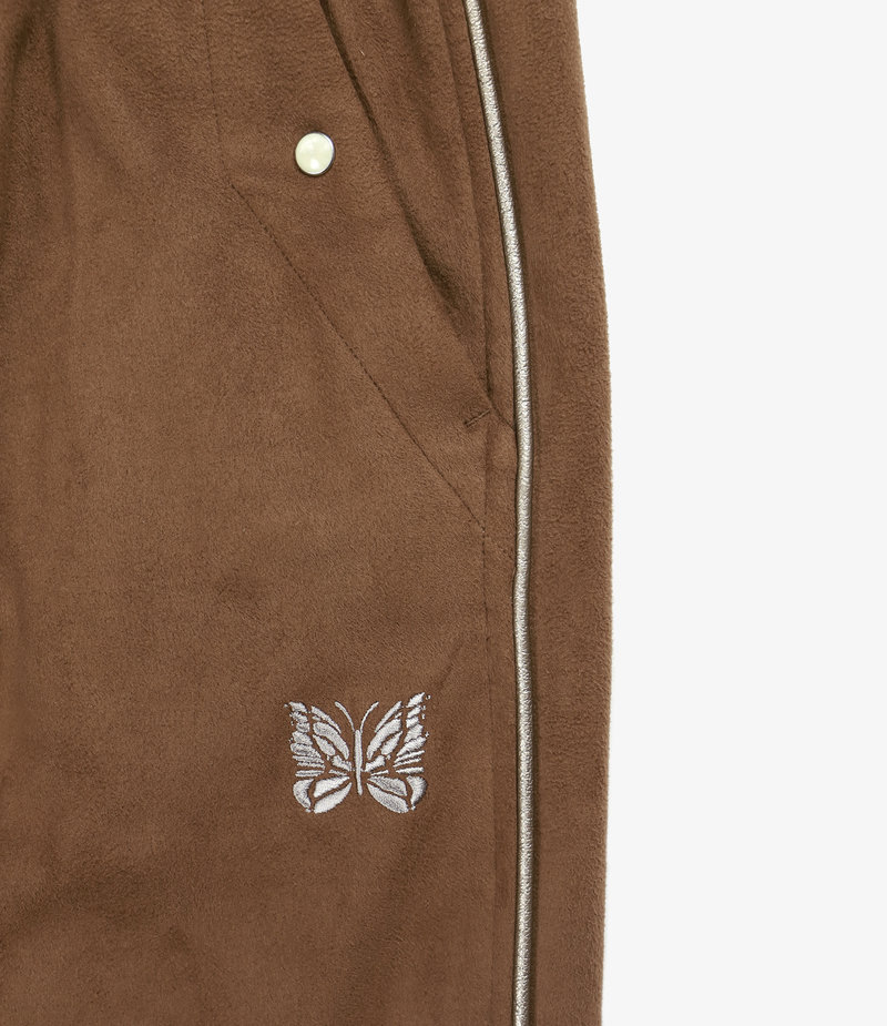 Needles Piping Cowboy Pant - Faux Suede - Brown