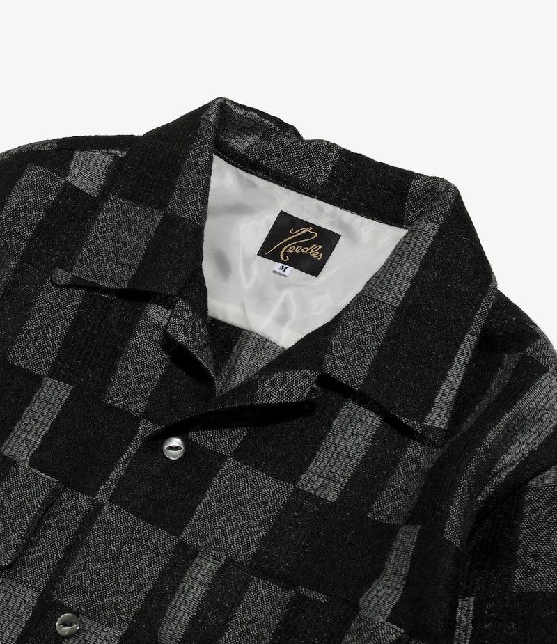 Needles C.O.B. Classic Shirt - Patchwork Jq BLK