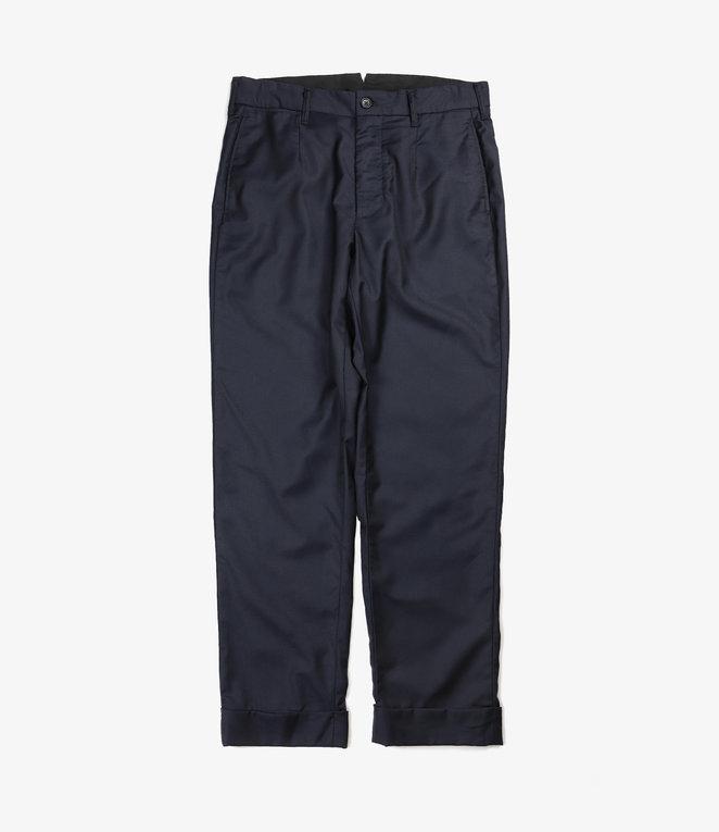 Engineered Garments Andover Pant - Dk.Navy Worsted Wool Gabardine