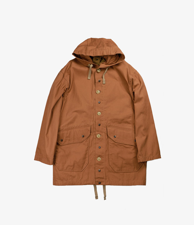 Engineered Garments Madison Parka - Brown 12oz Duck Canvas