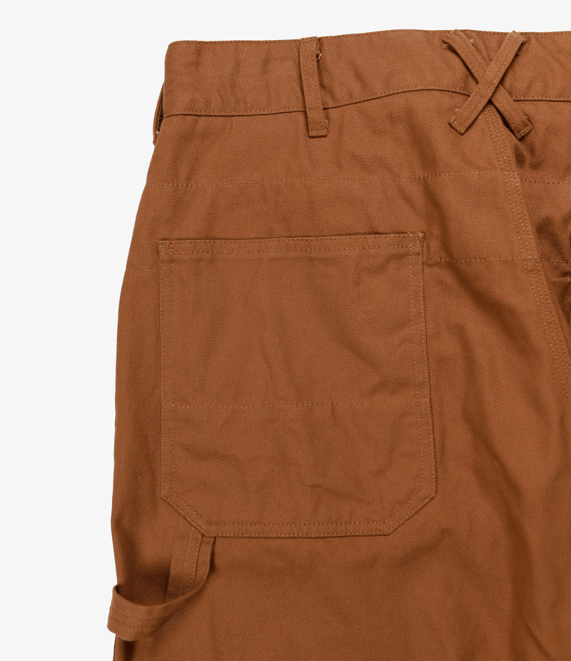 Engineered Garments Painter Pant - Brown 12oz Duck Canvas