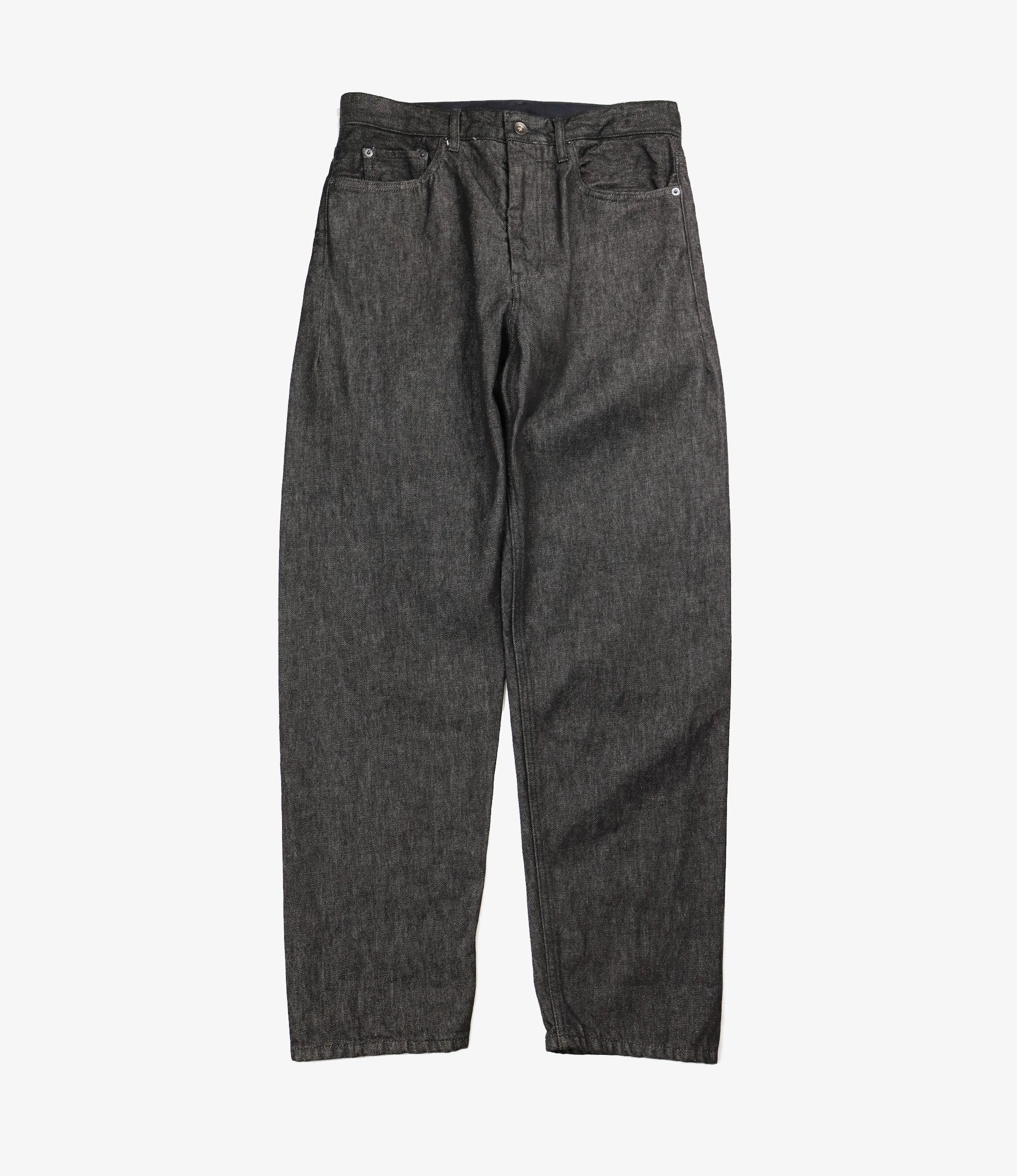 Engineered Garments Wide Peg Jean - Black 12oz Cone Denim