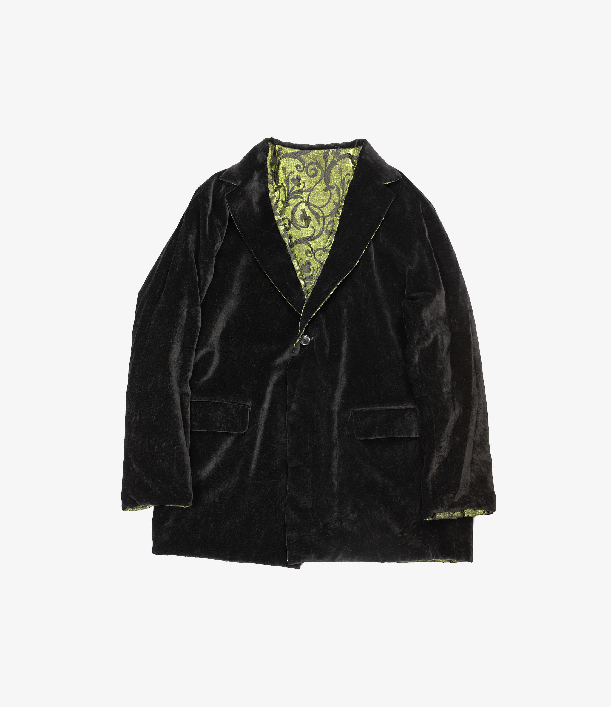 Needles Rev. 1B Jacket - Arabesque Jacquard - Green