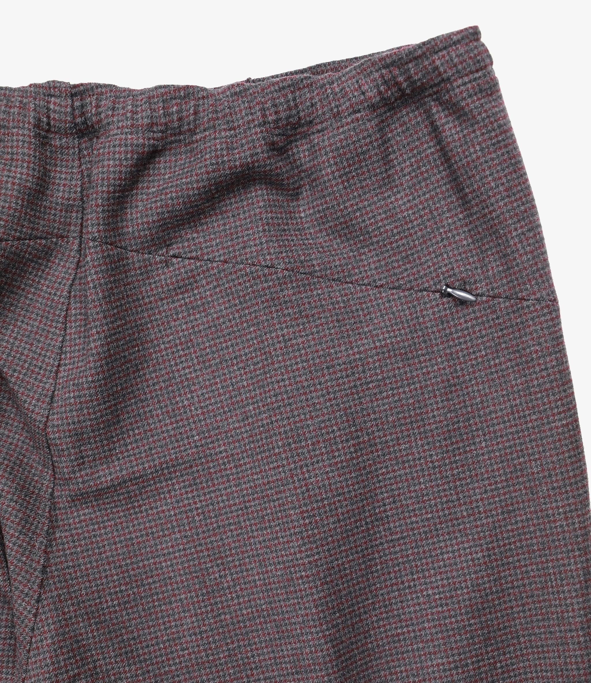 Needles W.U. Pant - Houndstooth - Charcoal