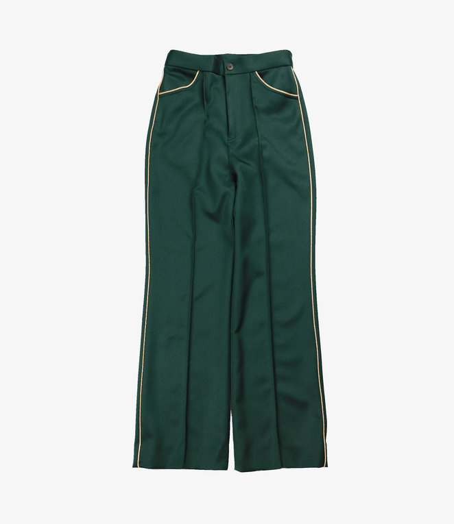 Needles Piping C.S. Leisure Pant - Pe/R Doeskin - Green