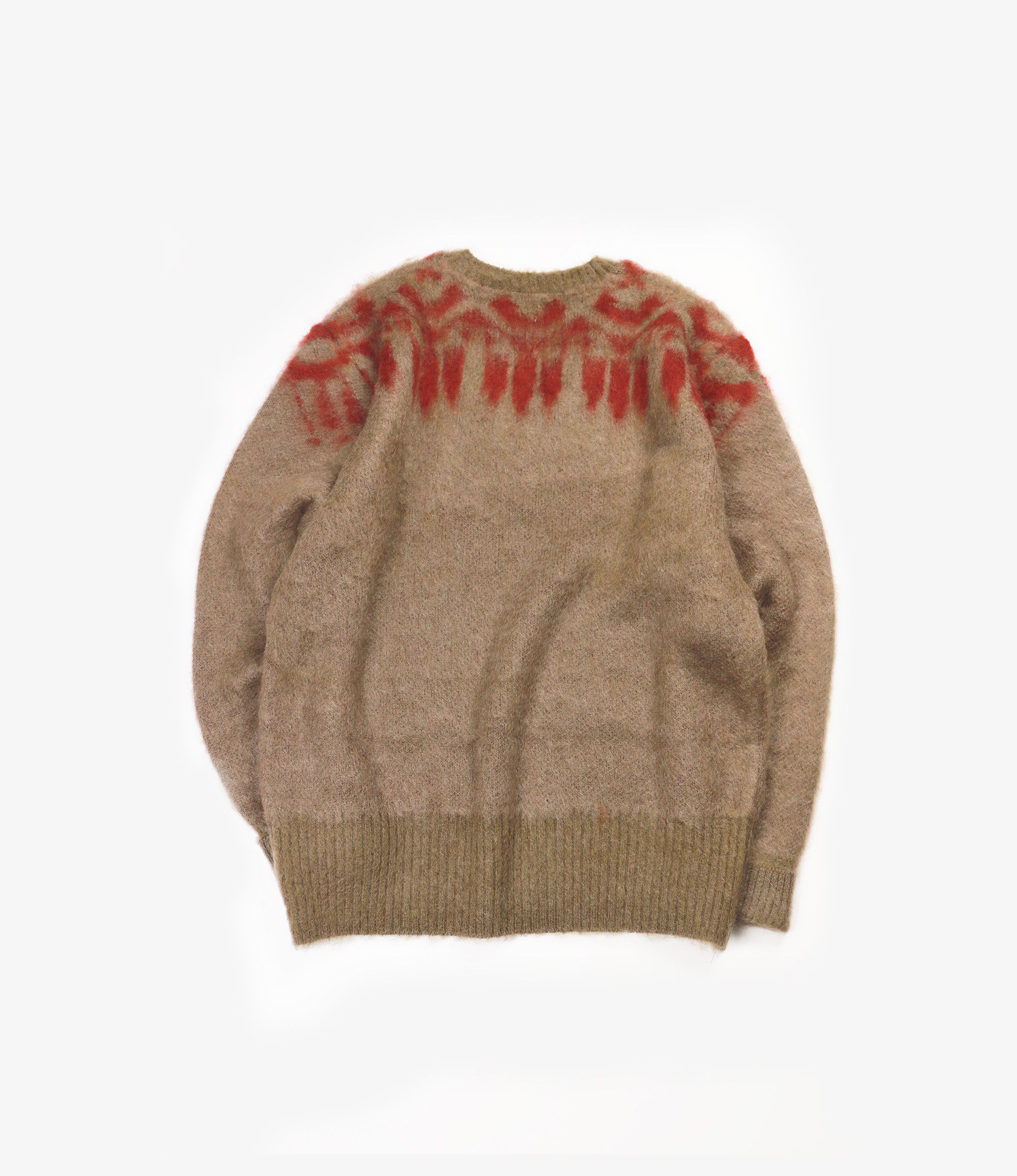 South2 West8 Loose Fit V Neck Sweater -  S2W8 Aztec - TAN