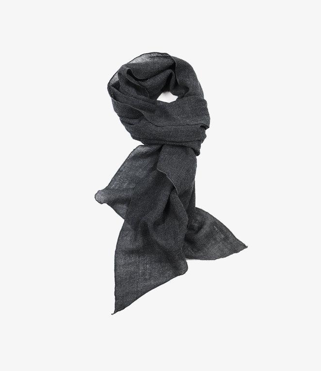 Engineered Garments Long Scarf - Dk.Grey Wool Gauze