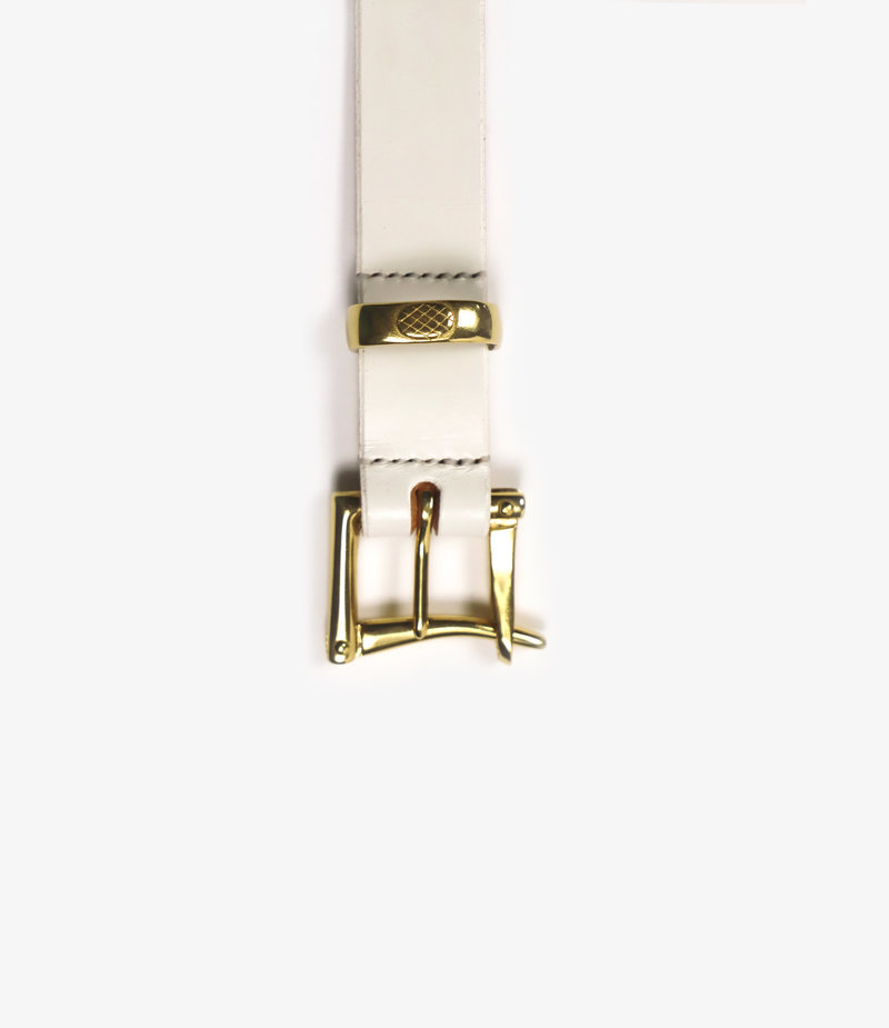 Needles 1.1 Quick Release Belt - Plain - White