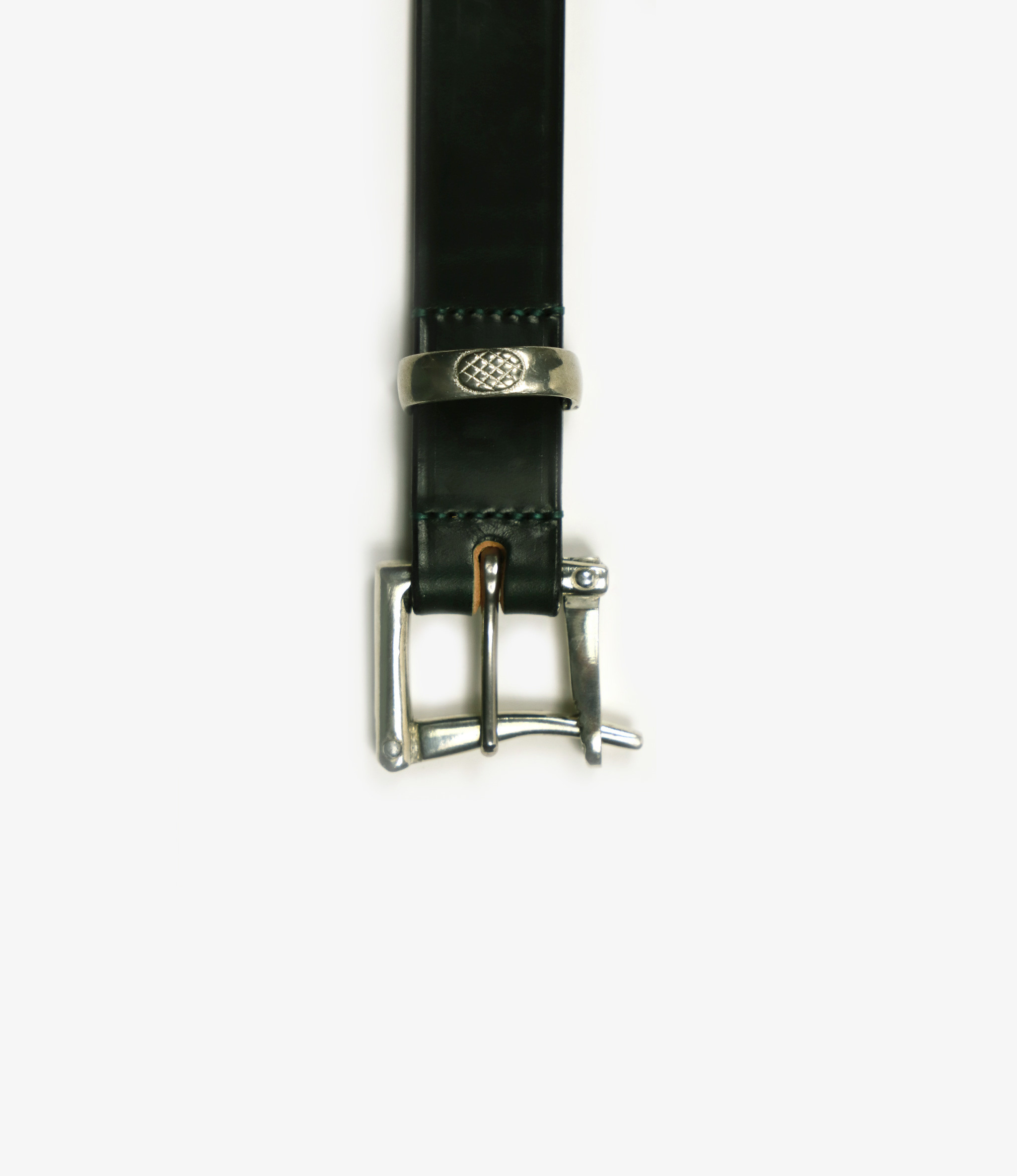 Needles 1.1 Quick Release Belt - Plain - Green