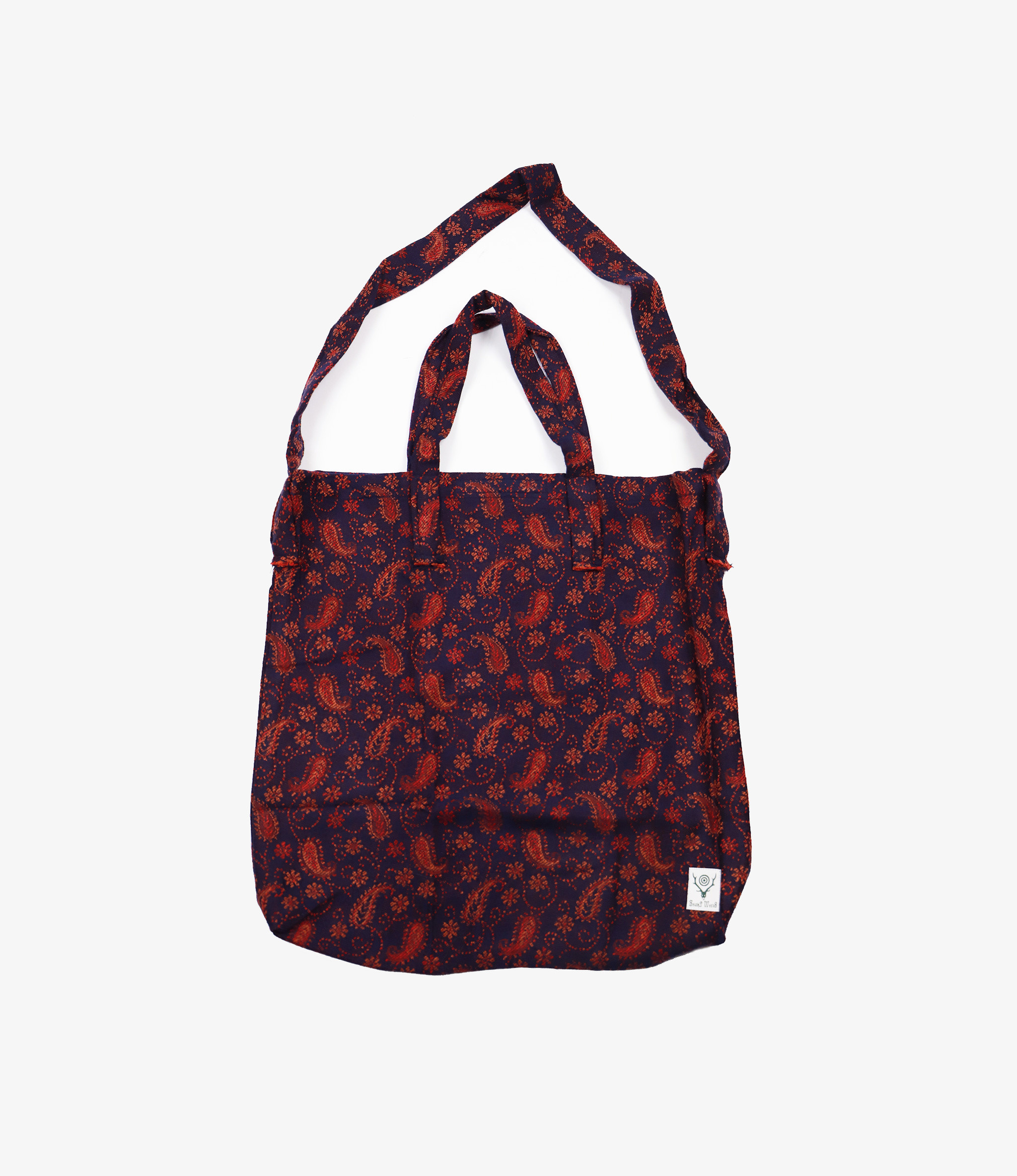 South2 West8 Grocery Bag - India Jq - Paisley