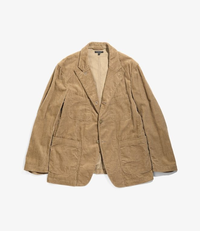 Engineered Garments Bedford Jacket - Khaki 8W Corduroy