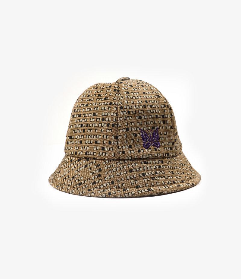 Needles Bermuda Hat - Poly Jq - Salt&Pepper
