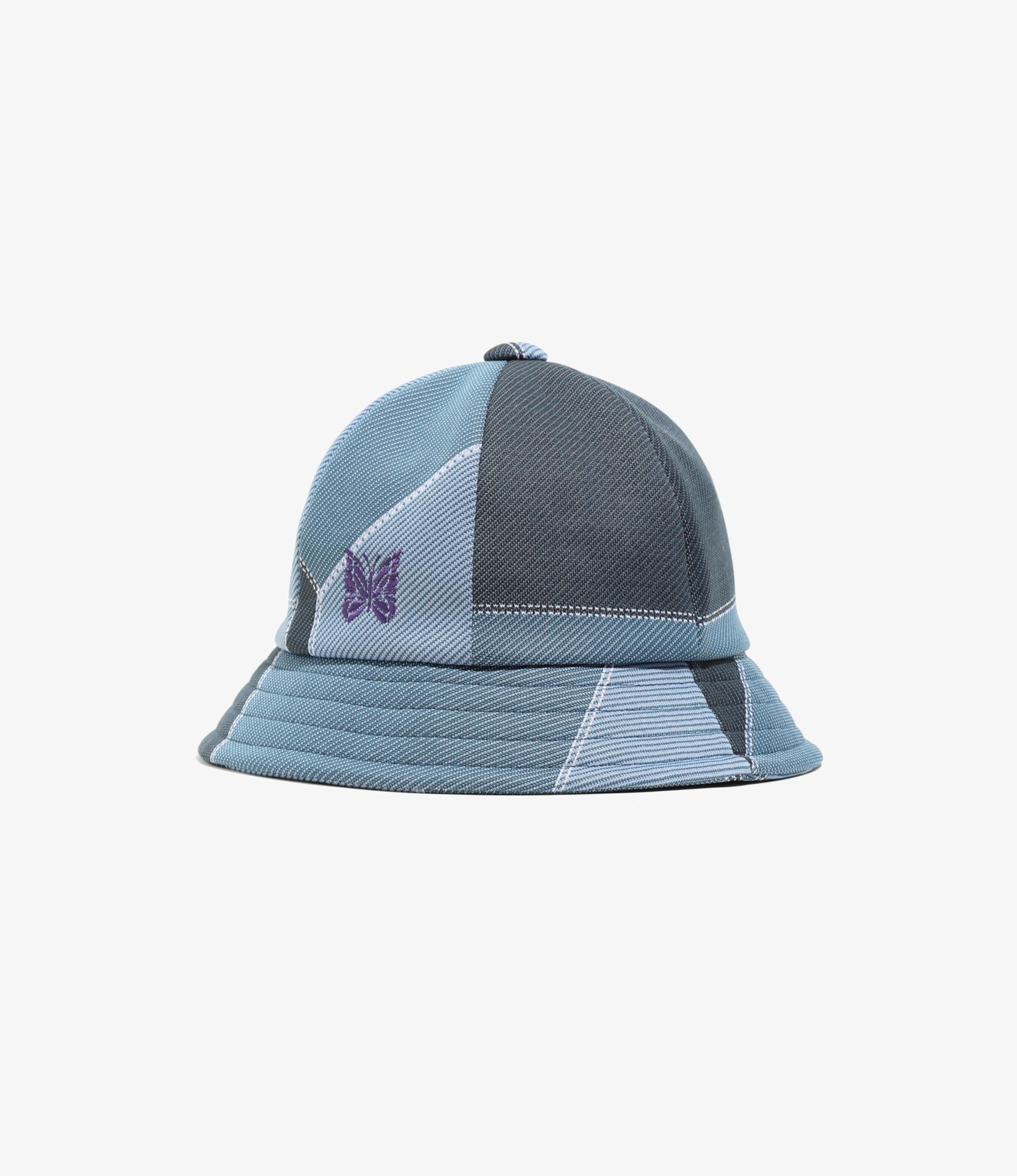 Needles Bermuda Hat  - Poly Jacquard. - Patchwork