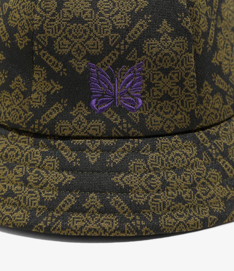 Needles Bermuda Hat - Poly Jacquard. - Damask