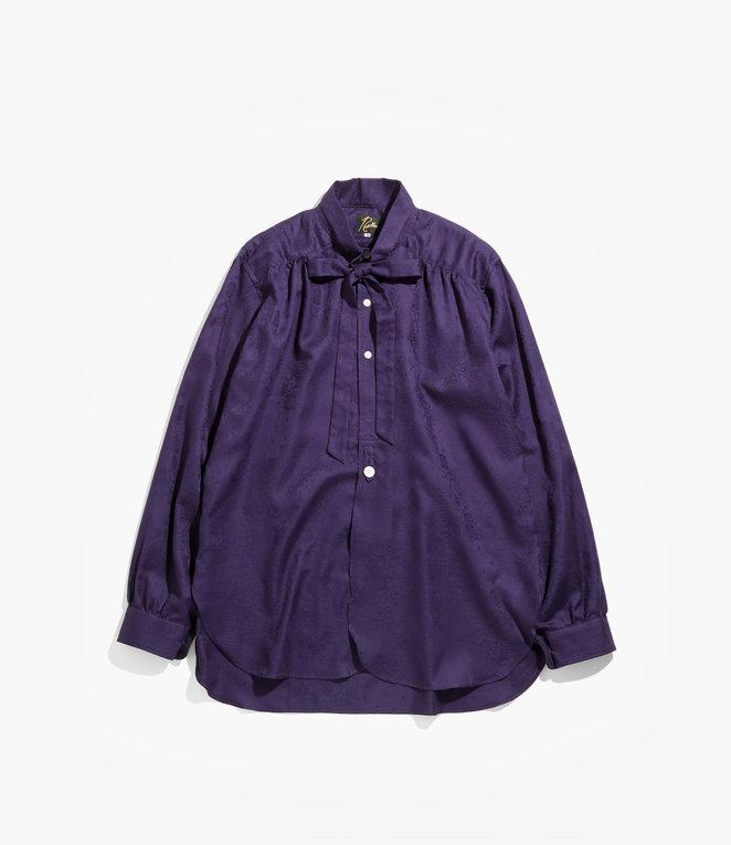 Needles Ascot Collar EDW Shirt - Bandana Jq. - Purple
