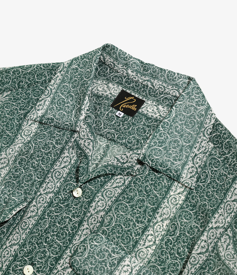 Needles C.O.B. Classic Shirt - Cupra Chiffon / Pt. - Arabesque St.