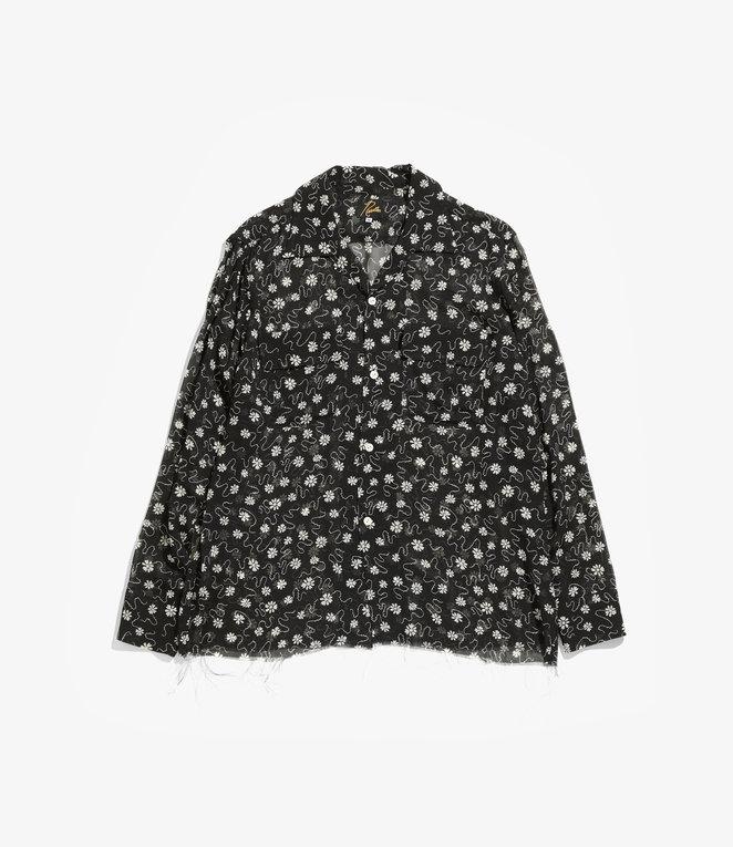 Needles C.O.B. Classic Shirt - Cupra Chiffon / Pt. - Floret