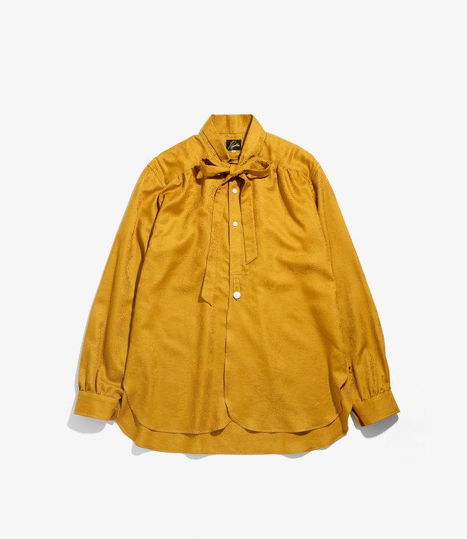 Needles Ascot Collar EDW Shirt - Bandana Jq. - Yellow Gold