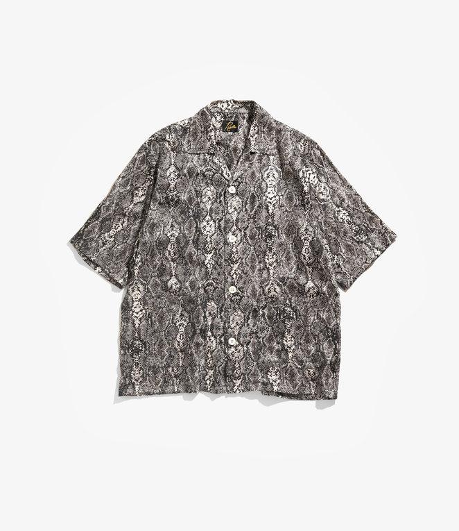 Needles Cabana Shirt - Python Pt. - White