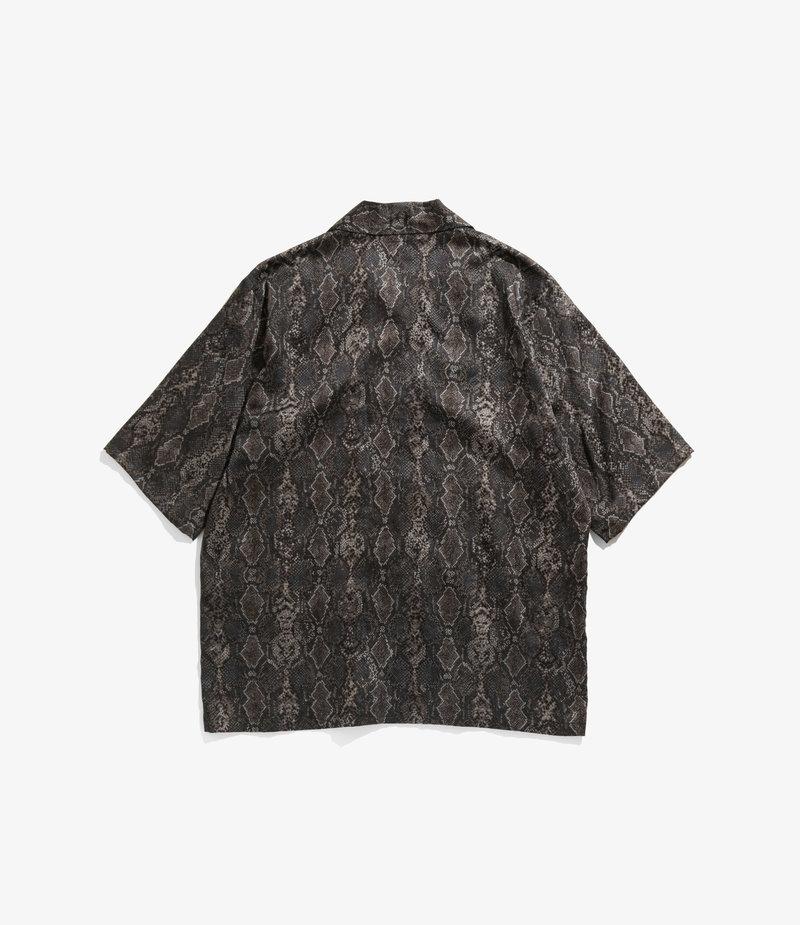 Needles Cabana Shirt - Python Pt. - Black
