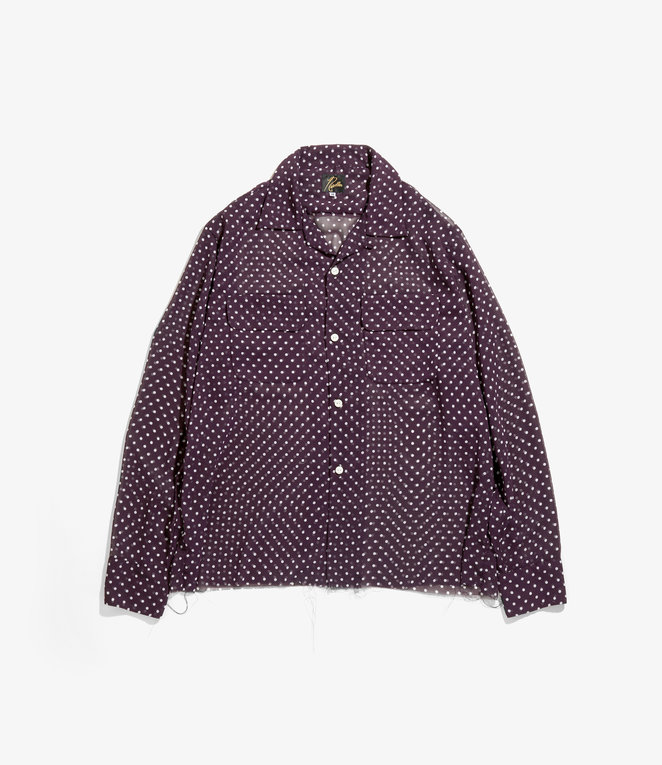 Needles C.O.B.  Classic Shirt - Polka Dot Pt. - Purple