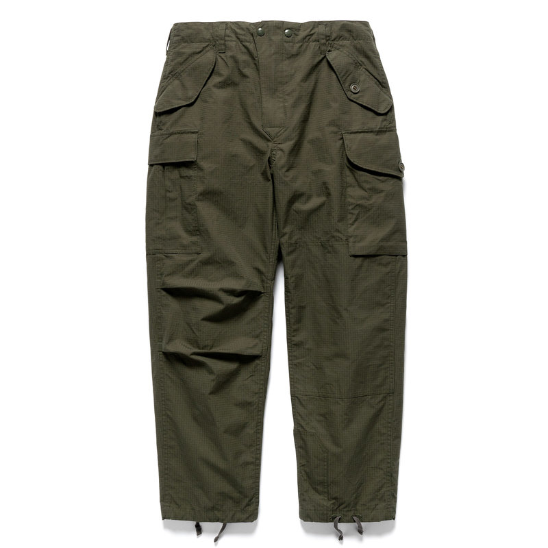 Engineered Garments BDU Pant for HAVEN - Olive Ventile Ripstop