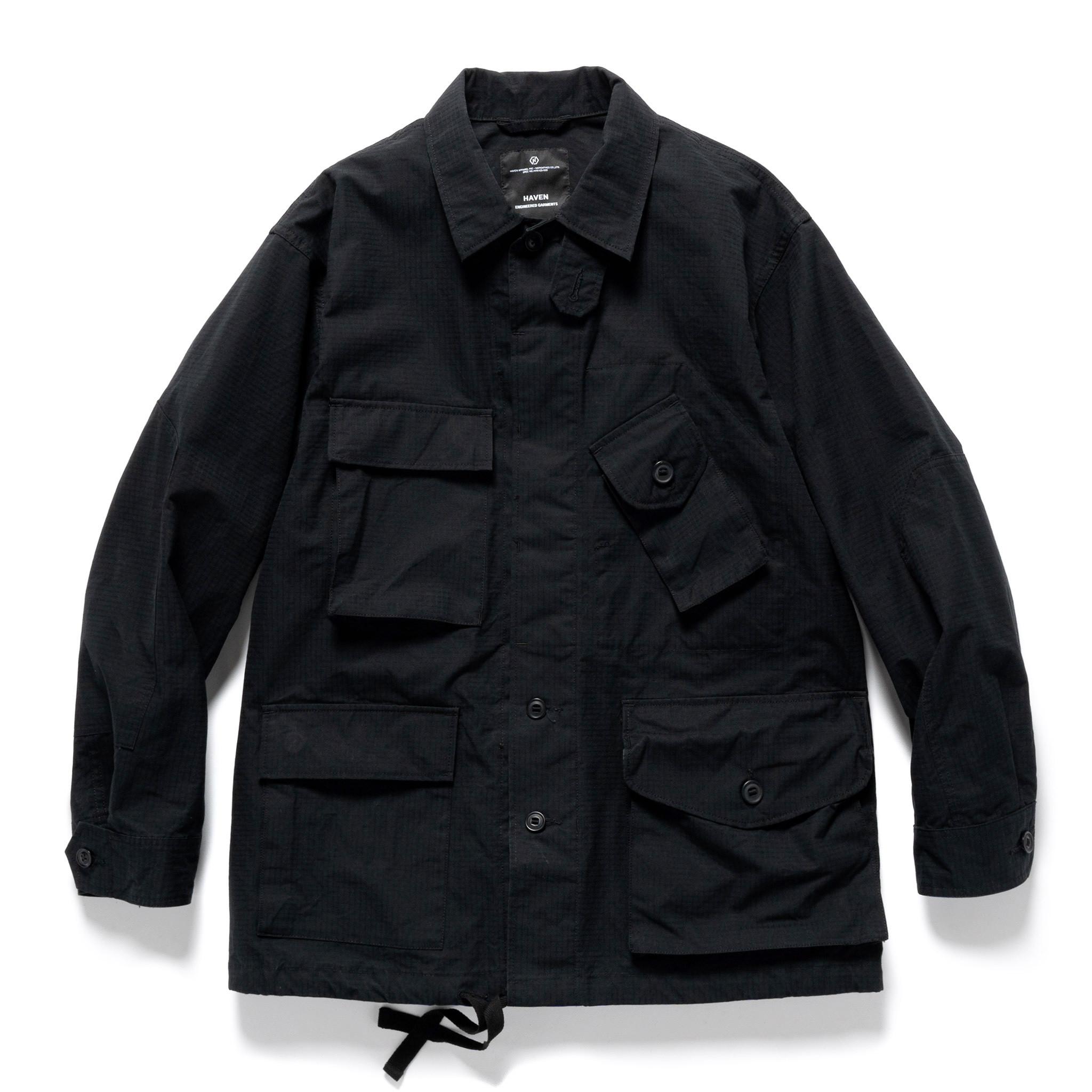 Engineered Garments BDU Jacket for HAVEN - Black Ventile Ripstop
