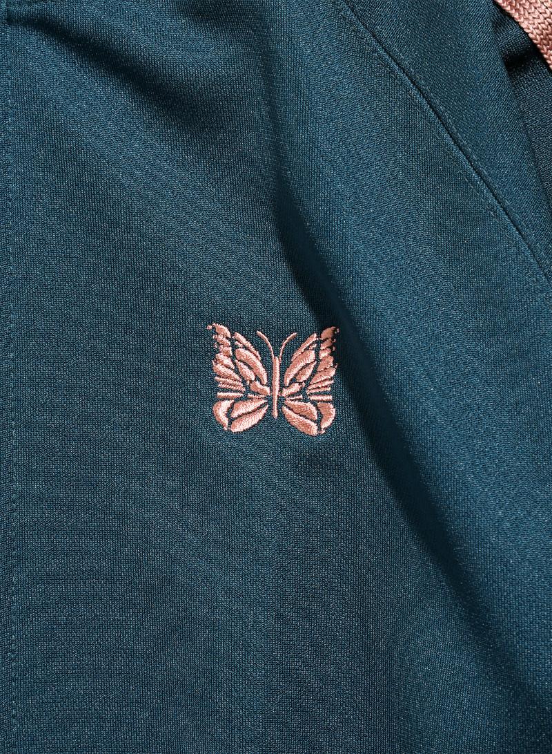 Needles Track Jacket - Poly Smooth - Teel Green