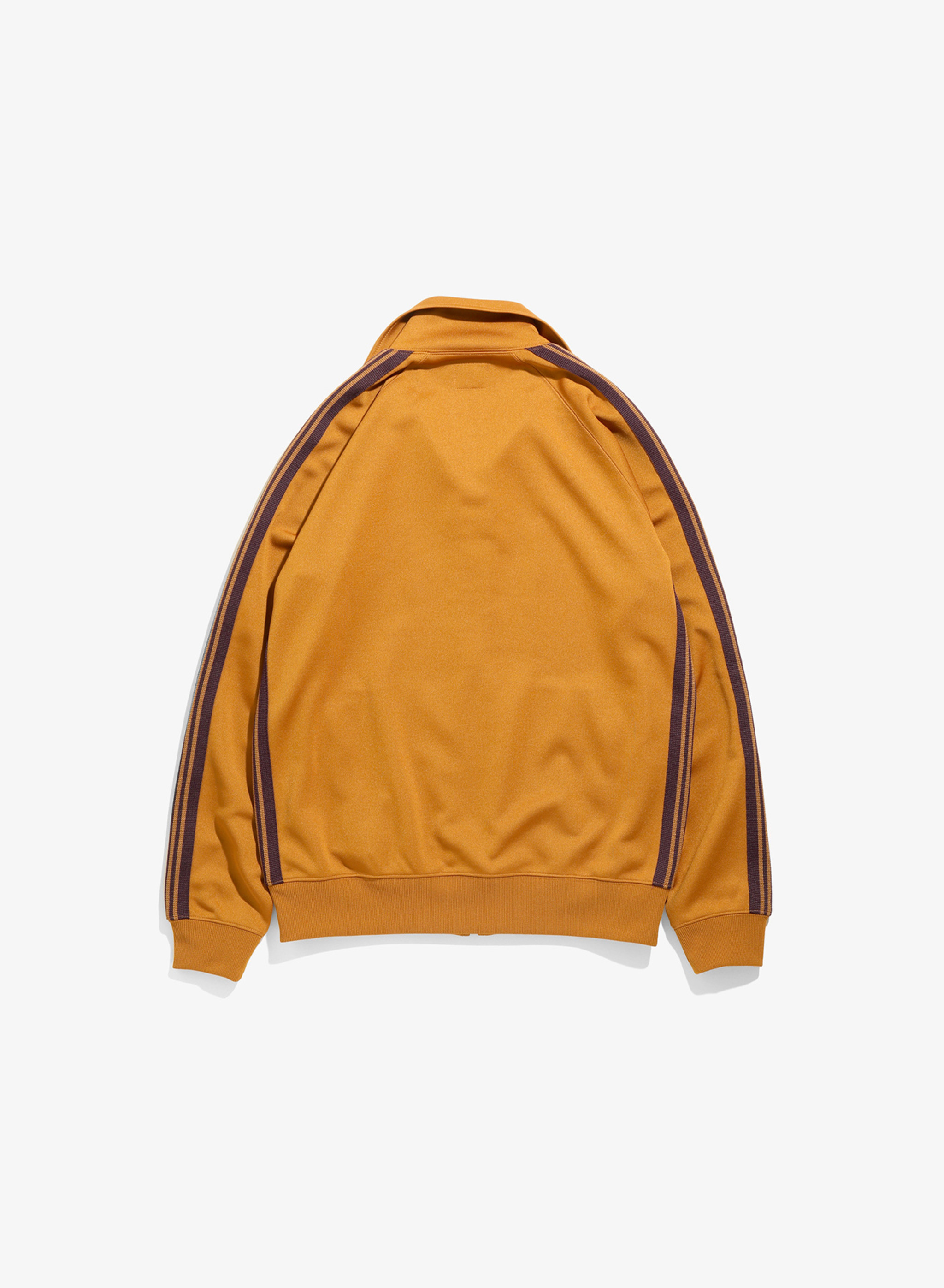 Needles Track Jacket - Poly Smooth - Mustard