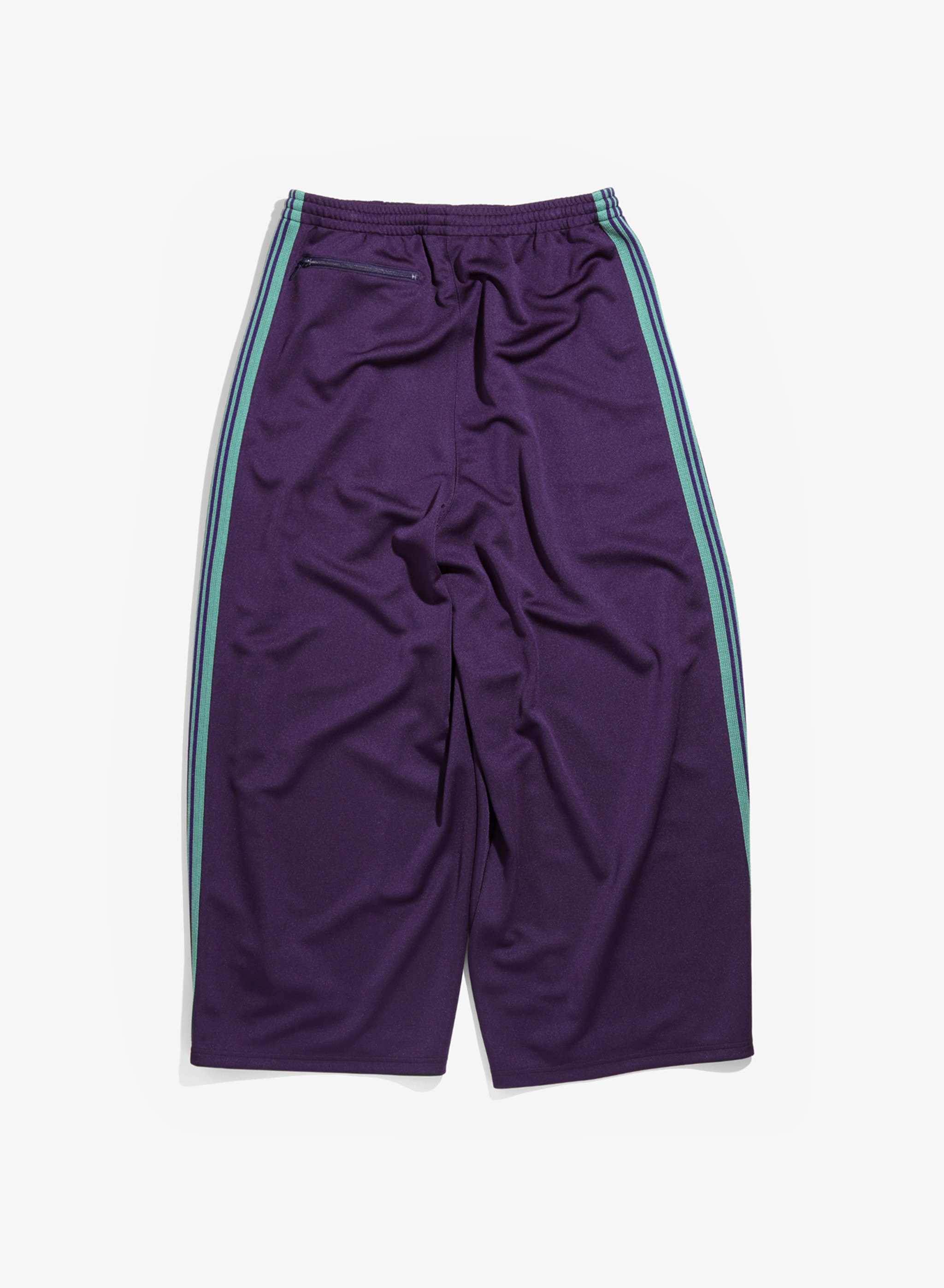 Needles H.D. Track Pant - Poly Smooth - Eggplant