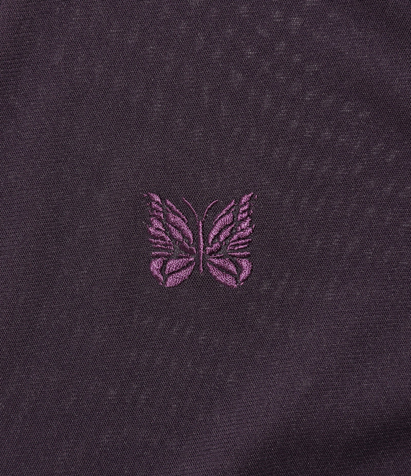 Needles V Neck Cardigane - Poly Mesh - Purple