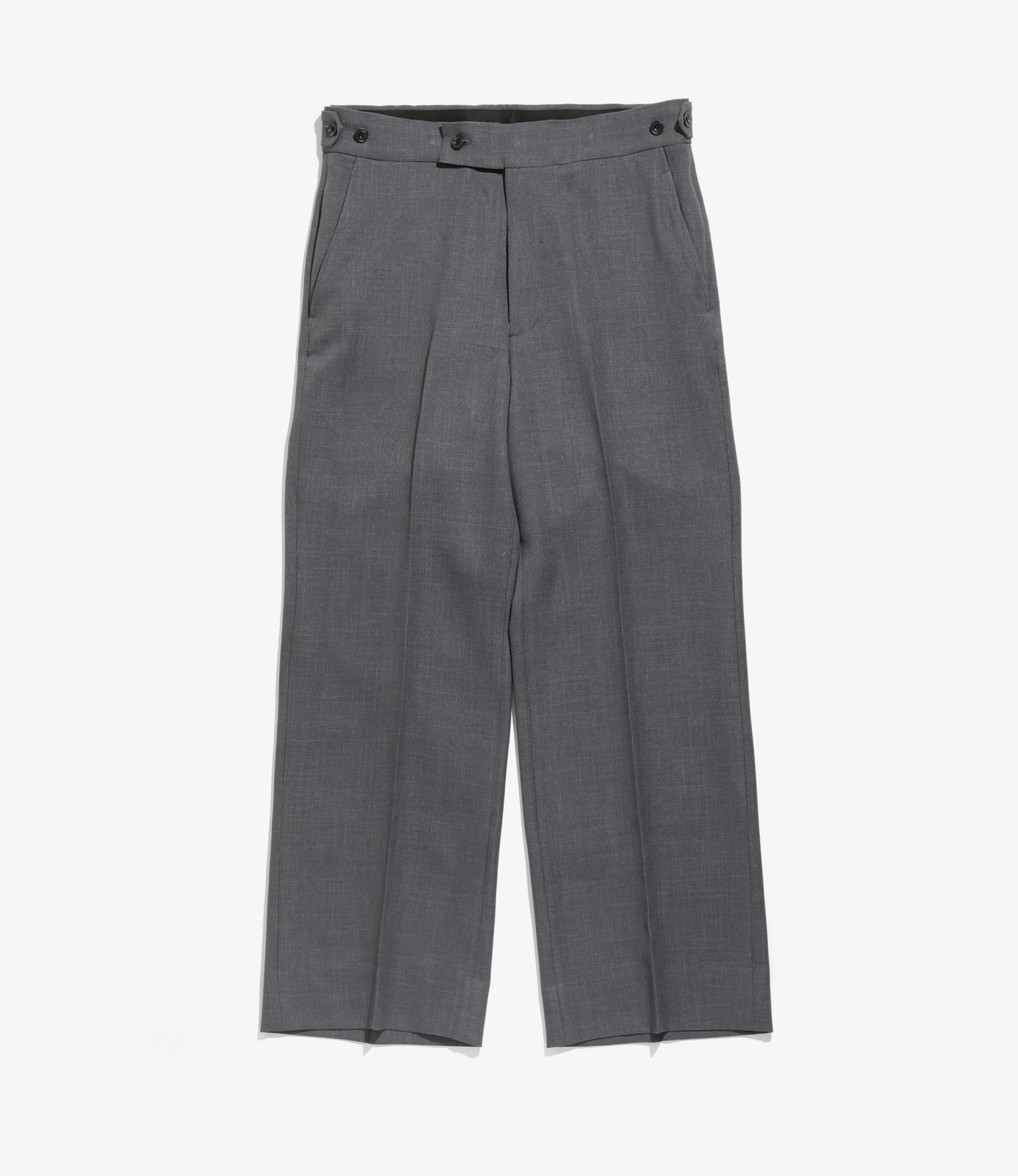 Needles Side Tab Trouser - Poly Dobby Twill - Charcoal