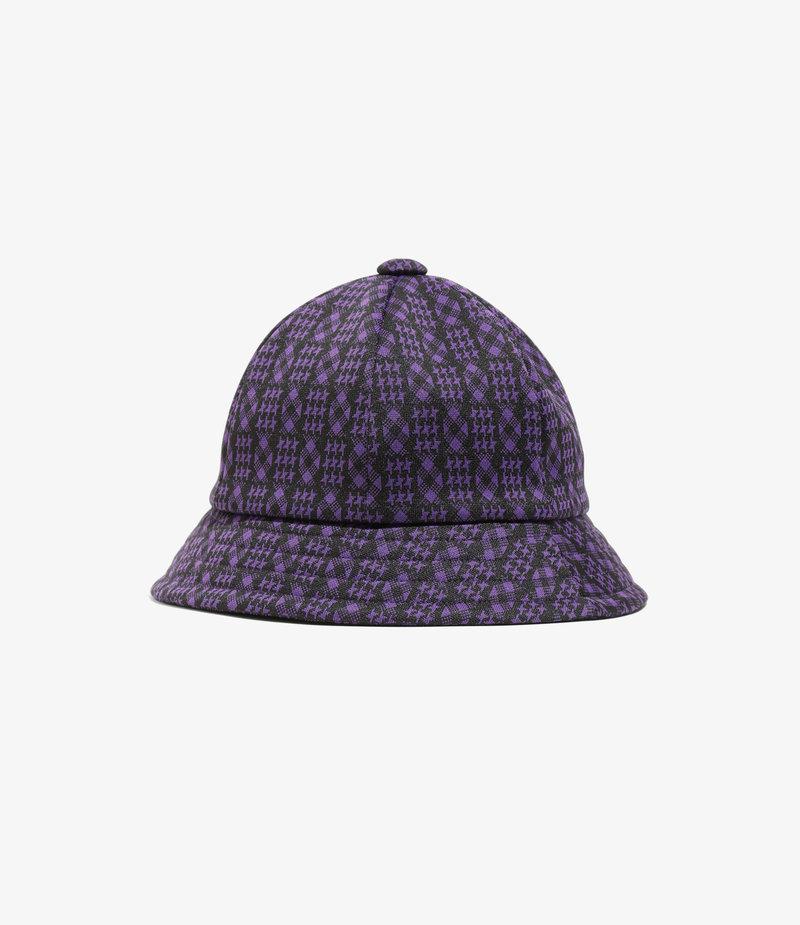 Needles Bermuda Hat - Poly Jacquard. - Houndstooth