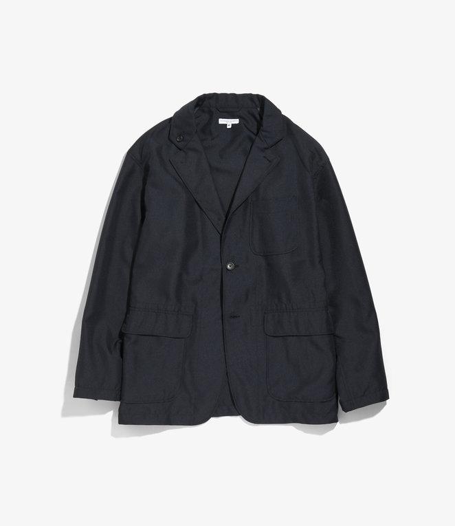 Engineered Garments Loiter Jacket - Navy Polyester Twill