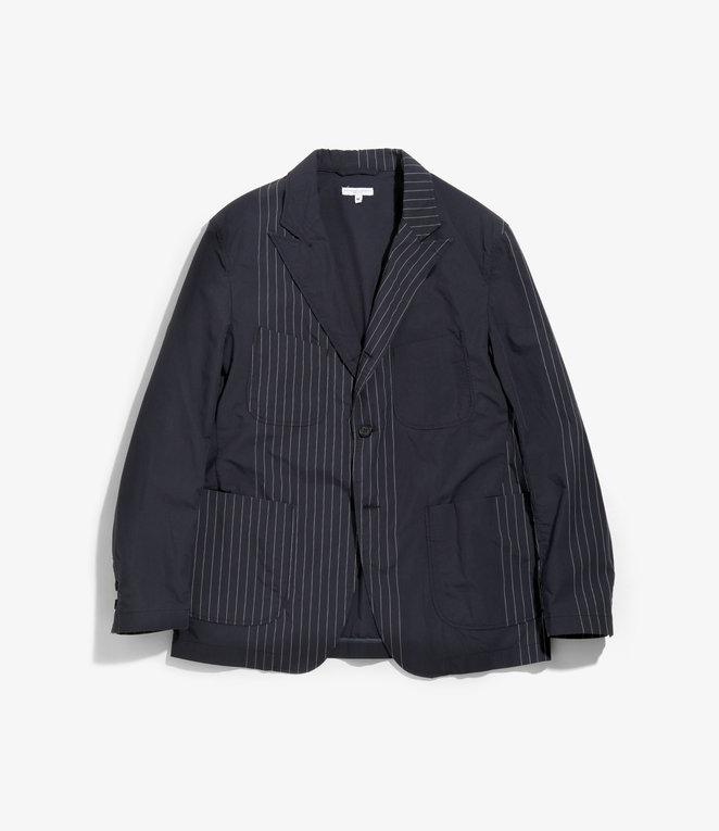 Engineered Garments NB Jacket - Dk.Navy Nyco Gangster Stripe