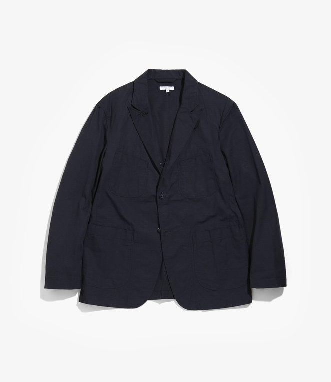Engineered Garments Bedford Jacket - Dk.Navy Cotton Ripstop