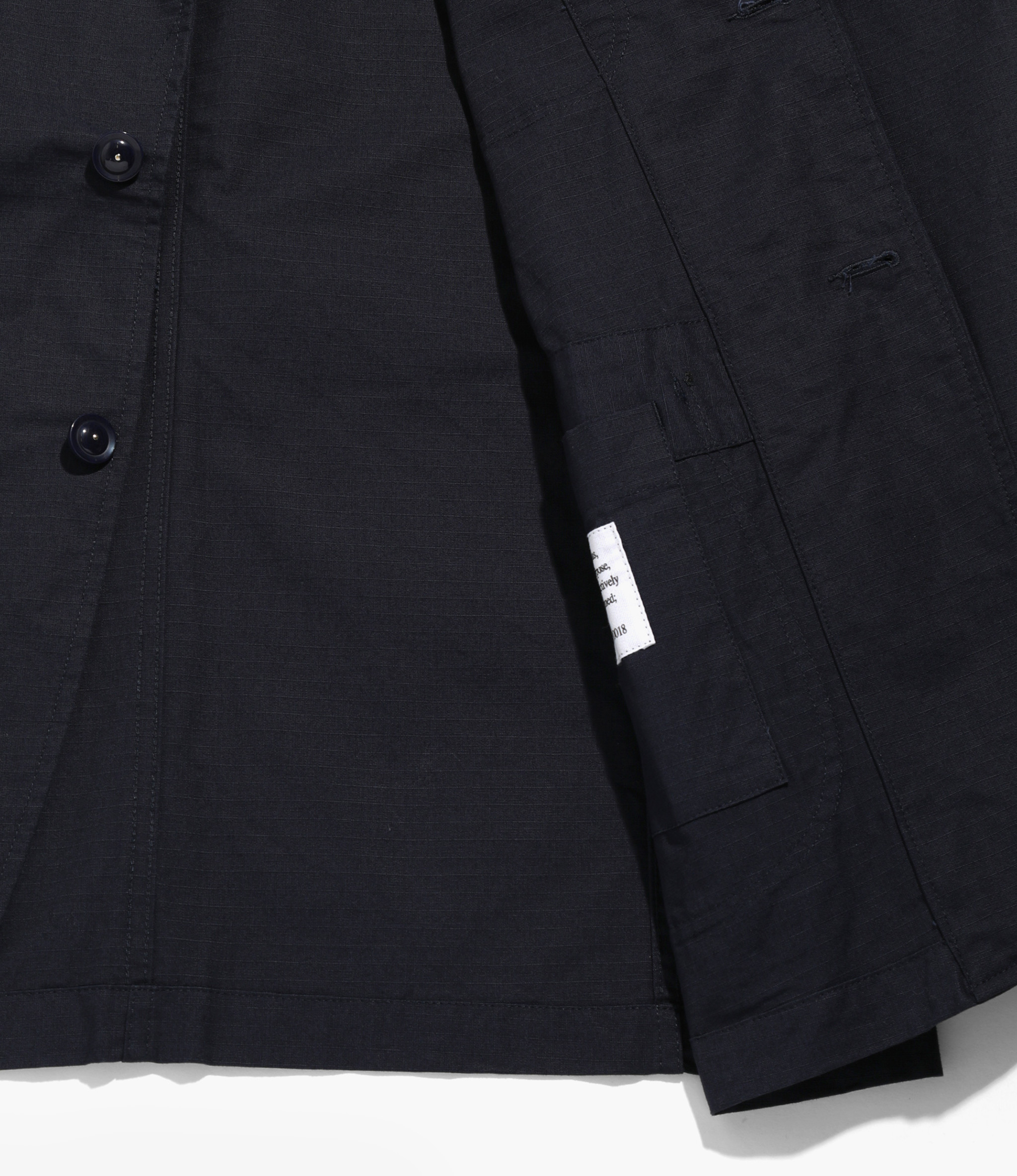 Engineered Garments Bedford Jacket - Dk.Navy Cotton Ripstop