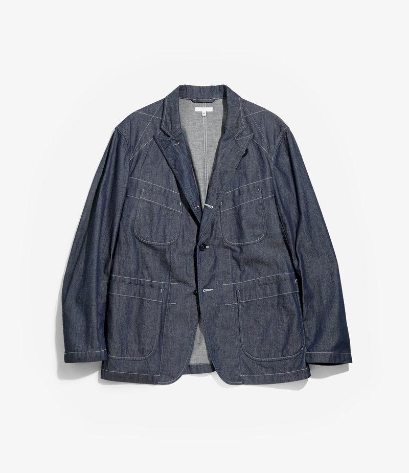 Engineered Garments Bedford Jacket - Indigo 8oz Cone Denim