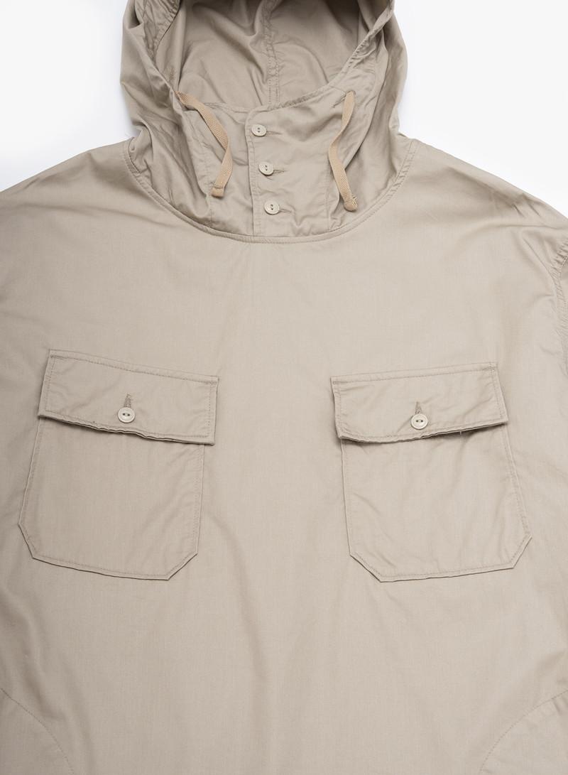 Engineered Garments Cagoule Shirt - Khaki High Count Twill