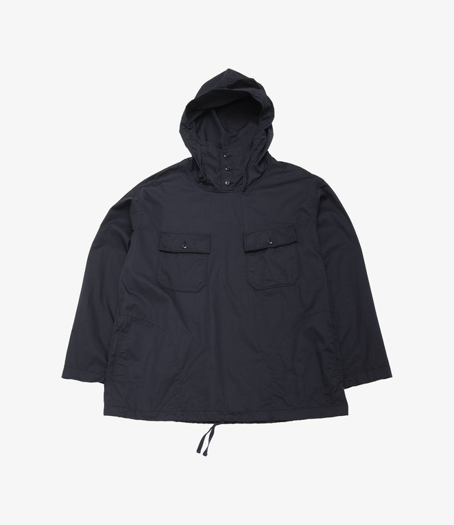 Engineered Garments Cagoule Shirt - Dk.Navy High Count Twill