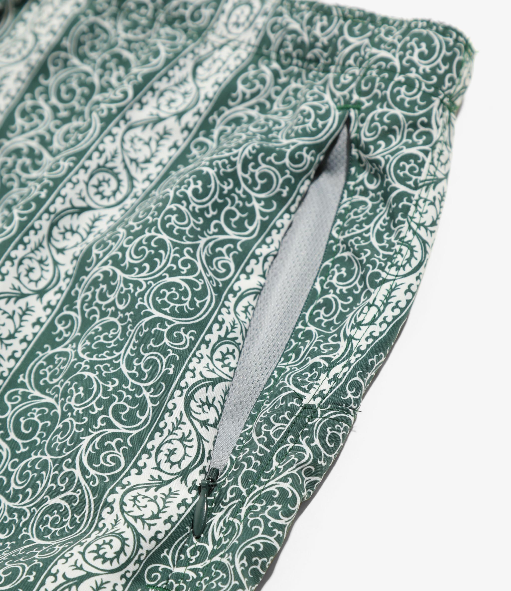 Needles W.U. Short - Nylon Tussore / Pt. - Arabesque St.